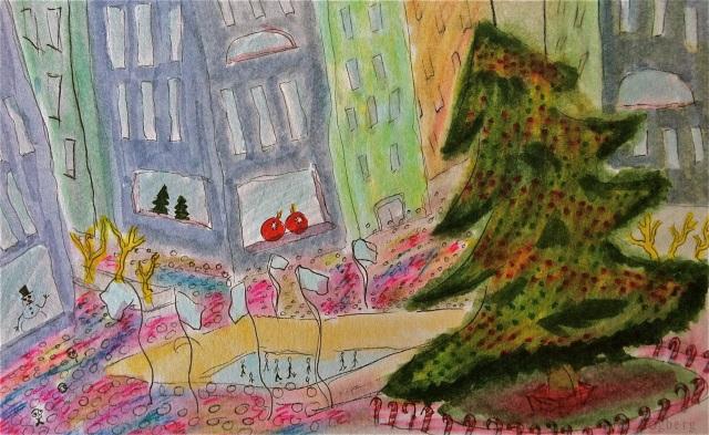 Loner - rockefeller center christmas tree